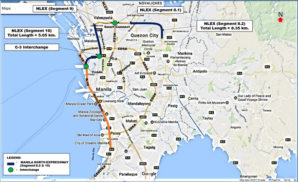 carNAVi GPS map 2018 with NLEX harbor link coming soon free of charge