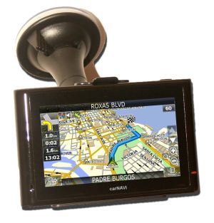 carNAVi PRO BT with car holder